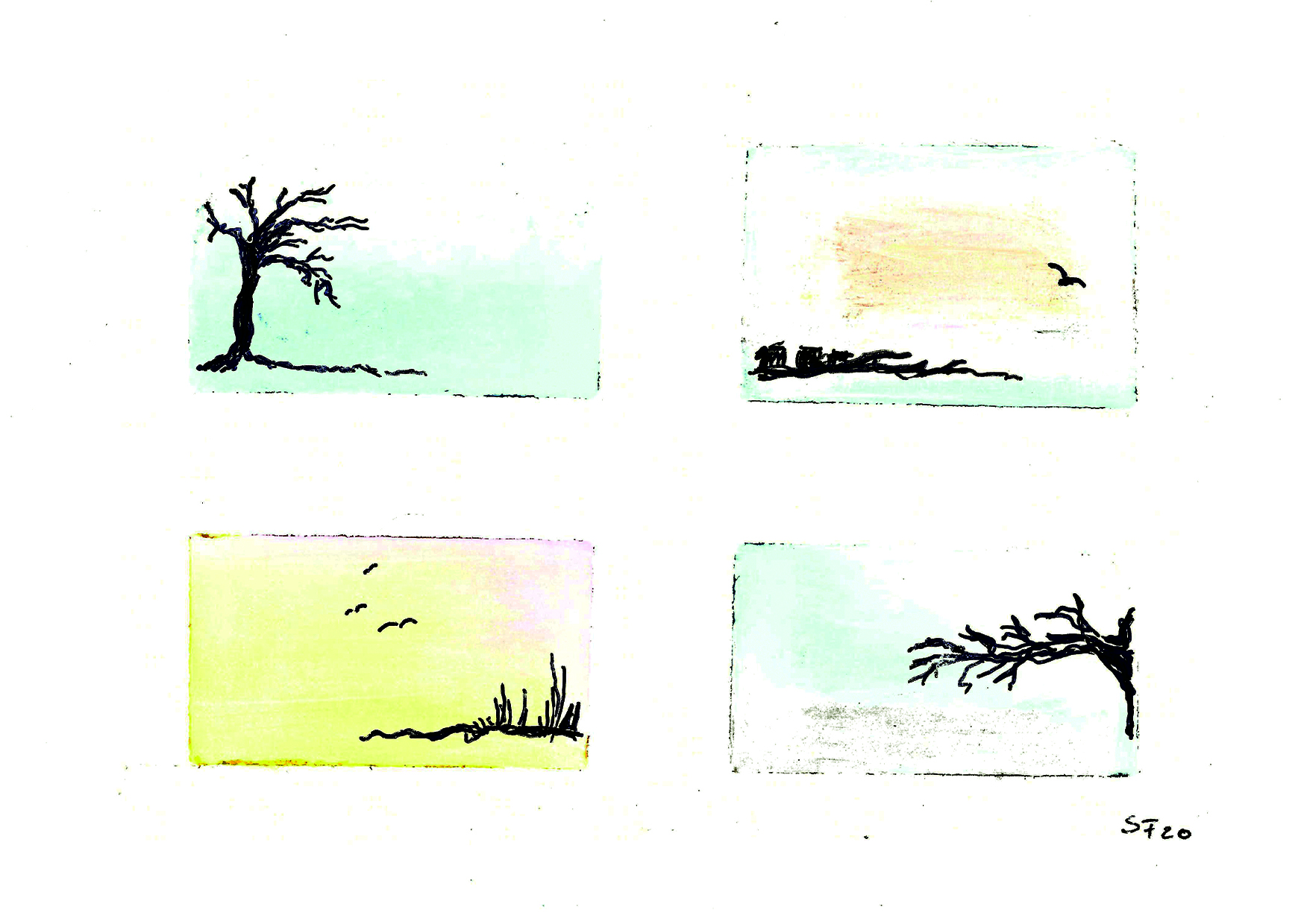 Oil Pastel Nr.9 04/20