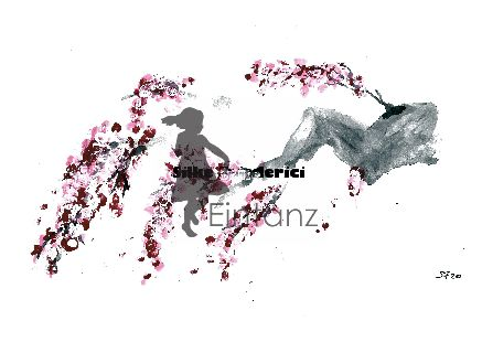 Wasserzeichen_Acryl Kirschblüten am Stamm 04-20